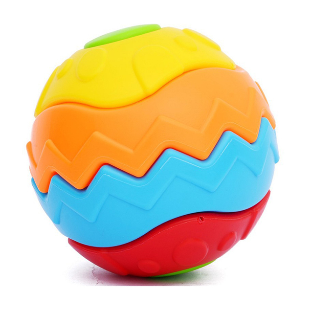 Envío libre, venta CALIENTE!!! bola de Jenga, Unidas Longitudinalmente en varias formas, desarrollo de la primera infancia de los niños juguetes de Construcción HT072