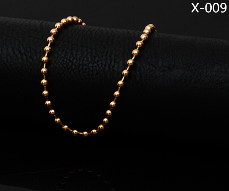 2016 Brand Tassel Anklet Bracelet Pulseras Tobilleras Gold beads Anklets For Women Fine Jewelry Barefoot Sandals 009