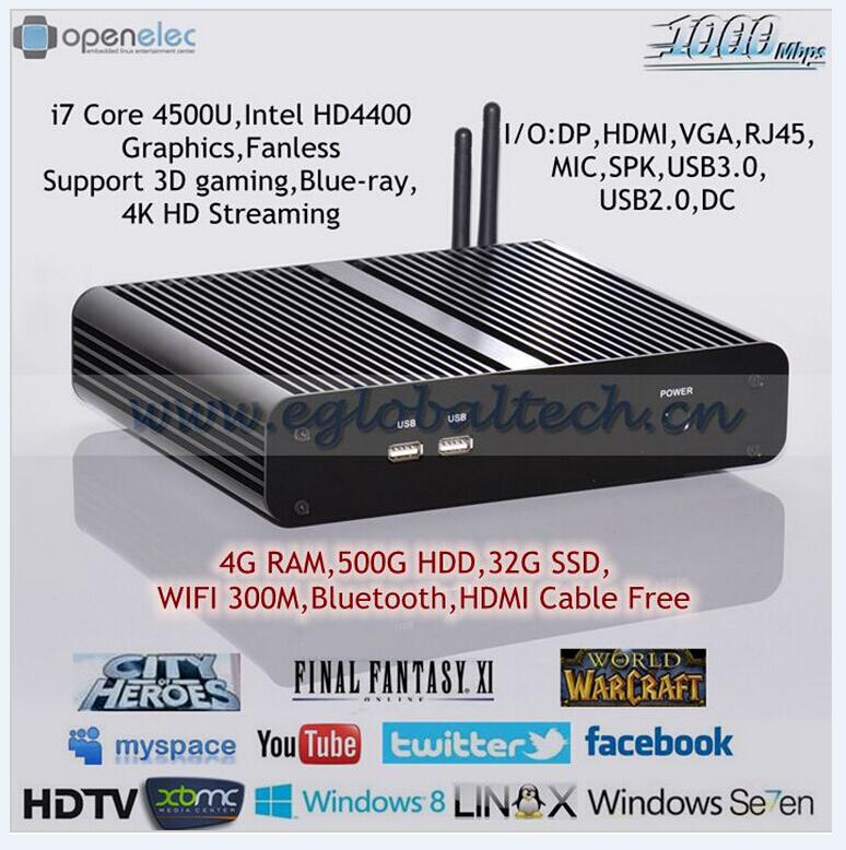 Most Powerful LINUX Computer Pre installed LINUX XBMC
