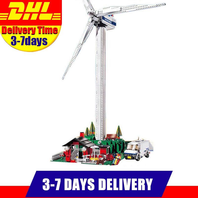 Lepin 37001 Creativo Serie Il Vestas Turbina Mulino A Vento Set Bambini Educational Building Blocks Giocattoli Dei Mattoni Modello Regali 4999