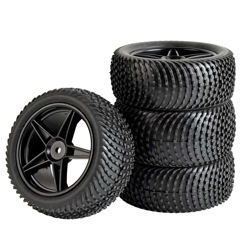 4PCS 1:10 Off-road Tire 85*32mm 85*40mm Front Rear Wheel Tire with Wheels Hub for 1:10 HPI HSP 94107/94166/94106 RC Cars Parts