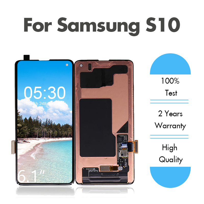 Assembly G973 Digitizer Touch-Screen G973f-Display SAMSUNG Galaxy S10 Original for LCD