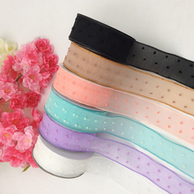 Ribbon Hollowed Out Butterfly Wedding Dress Ribbon DIY 4cm Wide Clothing Crafts Accessories Decorative Materials Gift Weaving