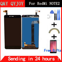 Q Y QYJOY For XiaoMi Redmi Note 2 LCD And Touch Screen Assembly Digiziter Replacement For