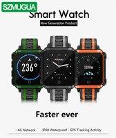 Смарт часы Для мужчин Водонепроницаемый gps Smartwatch андроид смарт часы 4G 1G Оперативная память 8G Встроенная память Wi Fi Smartwatch Водонепроницаемый