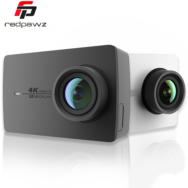 [International Edition] Original Xiaoyi YI 4K Action Camera 2 Ambarella A9SE 2.19 155 Degree 12MP Sports Camera EIS LDC new original yi 4k action sport camera 4k xiaoyi 2 19 ambarella h2 for sony imx377 12mp 155 degree 4k ultra hd sports camera