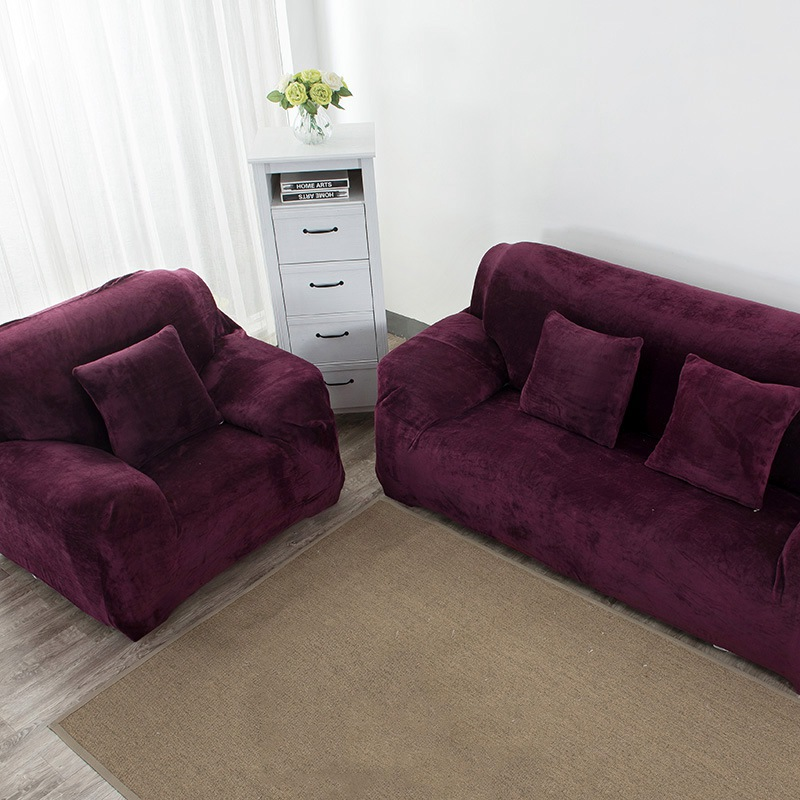 Sofa Cover for Living Room Couch Corner Cases for Furniture Armchairs Slipcovers All inclusive Cover Slip resistant Sofa Towel