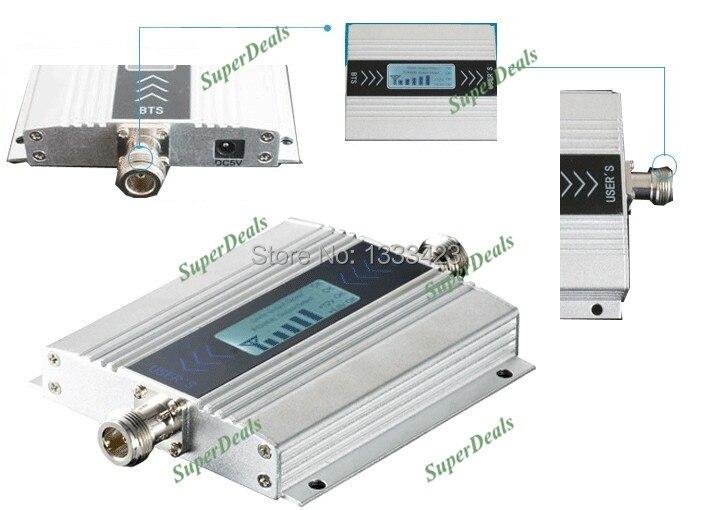 13db yagi + écran LCD! Répéteur de signal/répétiteur de téléphone portable mini GSM 900 mhz, amplificateur de booster de signal GSM de téléphone portable - 3