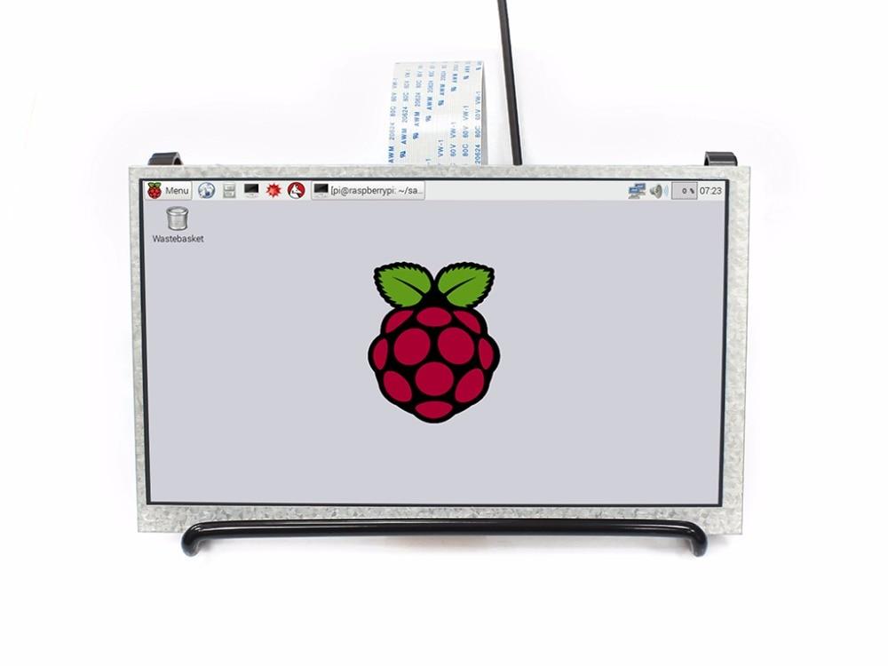 7inch 1024x600 IPS Display for Raspberry Pi 3B/2B/Zero/Zero W, DPI interface no Touch, Supports Raspbian Ubuntu OSMC etc. tengying l298n motor driver board for raspberry pi red