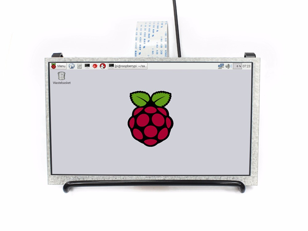 Waveshare 7 pollici 1024x600 IPS Display Monitor per Raspberry Pi 3B/2B/Zero/Zero W DPI interfaccia no Touch Supporta Raspberry Pi-in Monitor LCD da Computer e ufficio su  Gruppo 1