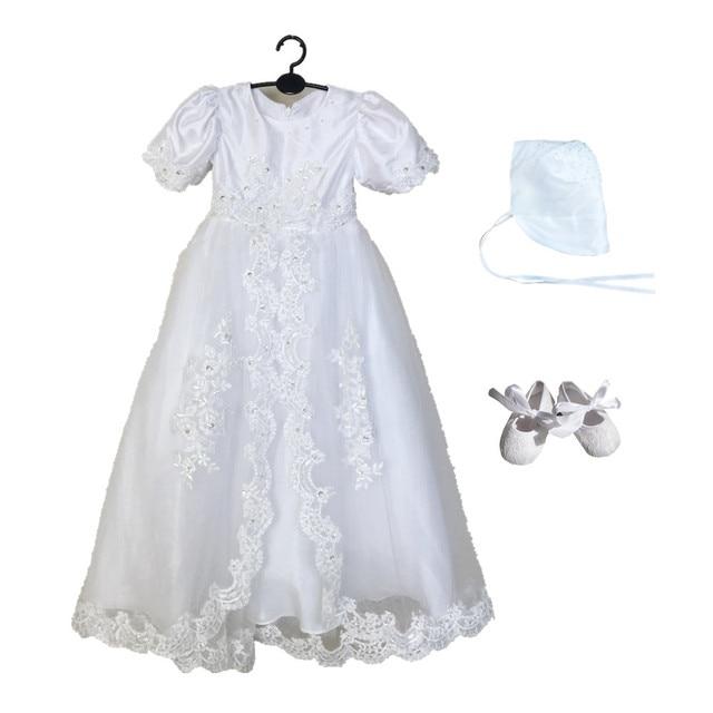Vestido largo bautizo