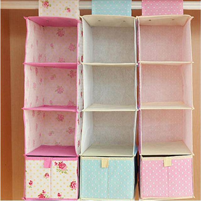 Multi storey storage bag hanging wardrobe hanging storage bag cloth multi storey storage bag hanging wardrobe hanging storage bag cloth drawer clothes storage bag sisterspd