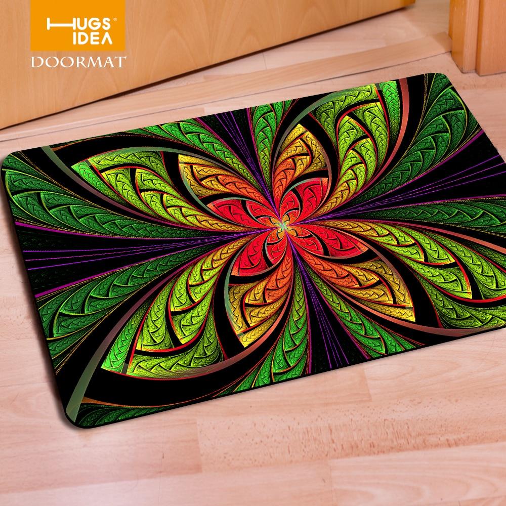 Kitchen Rubber Floor Mats Aliexpresscom Buy Funny Front Door Entrance Carpets 3d Plants