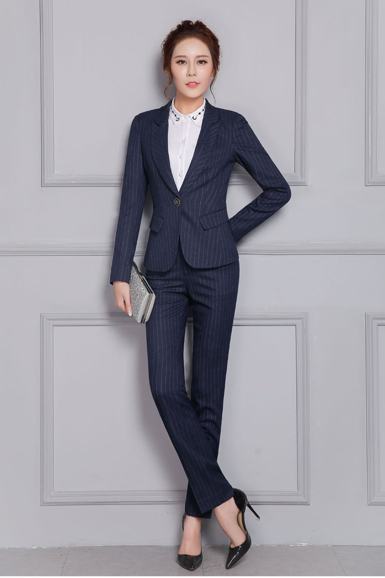2 Automne Manches Qualité Costumes Taille Pour 1 Bleu Pantalon De Haute Femmes Rayé Nouvelle Vêtements Grande Salopette À Longues qSwxxfTzt