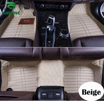Top Quality 3D Car Floor Mat for Honda Crosstour Foot Mat Car Foot Pad Black Coffee Beige Brown Left Hand Driver Carpet фото