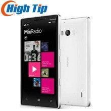 Разблокированный мобильный телефон Nokia Lumia 930, четырехъядерный процессор Windows, камера 20 МП, 5 дюймов, LTE, 32 ГБ ROM, 2 Гб RAM, отремонтированный