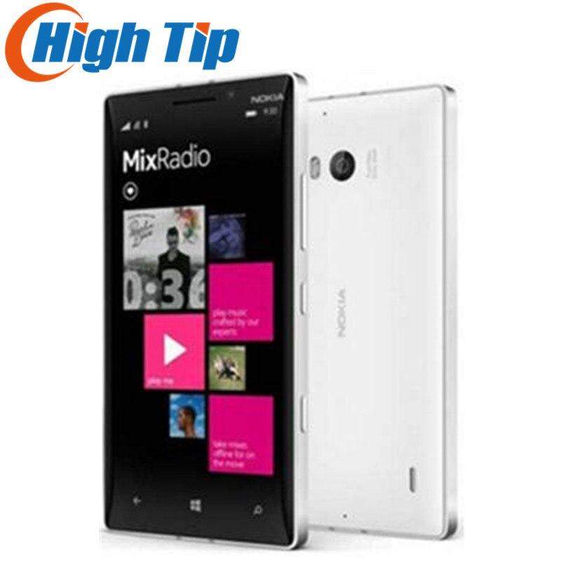 Débloqué Original Nokia Lumia 930 cellulaire Windows mobile téléphone Quad-core 20MP Caméra 5 pouce LTE 32 gb ROM 2 gb RAM Rénové