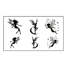 Waterproof Temporary Tattoo Sticker On Body Art Fairy Finger Water Transfer Flash Tattoo Fake Tattoo For Girl Men