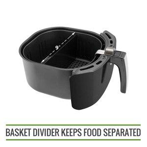 XL воздушная фритюрница для приготовления пищи разделитель совместим с 9 дюймов воздушная фритюрница корзины воздушная фритюрница корзина ...