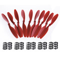 5Pairs Plastic and Nylon with Four Colors Choice Propeller Prop 1045 10x4.5 CCW CW For RC Multicopter F450 Quadcopter