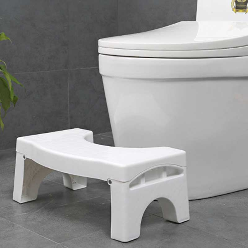 closestool ottoman skidproof stool foldable portable squat potty ottoman footstool toilet step bathroom furniture bathroom flannel skidproof shore scenery mat