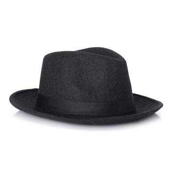 Wool Black Fedora