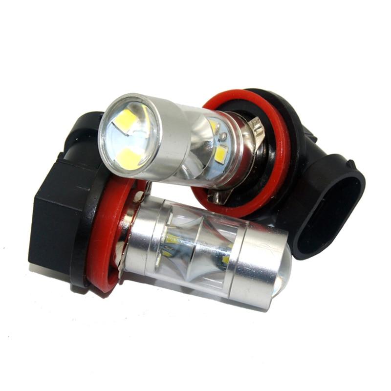 KAHANE 2x60 W 9005 LED Araba Far Ampul Gündüz Çalışan Işık Sis - Araba Farları - Fotoğraf 4