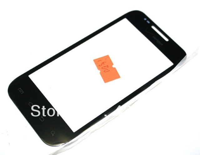 Black Front Glass Outer Lens Screen Cover replacement for Samsung Fascinate i500 + Free Tools