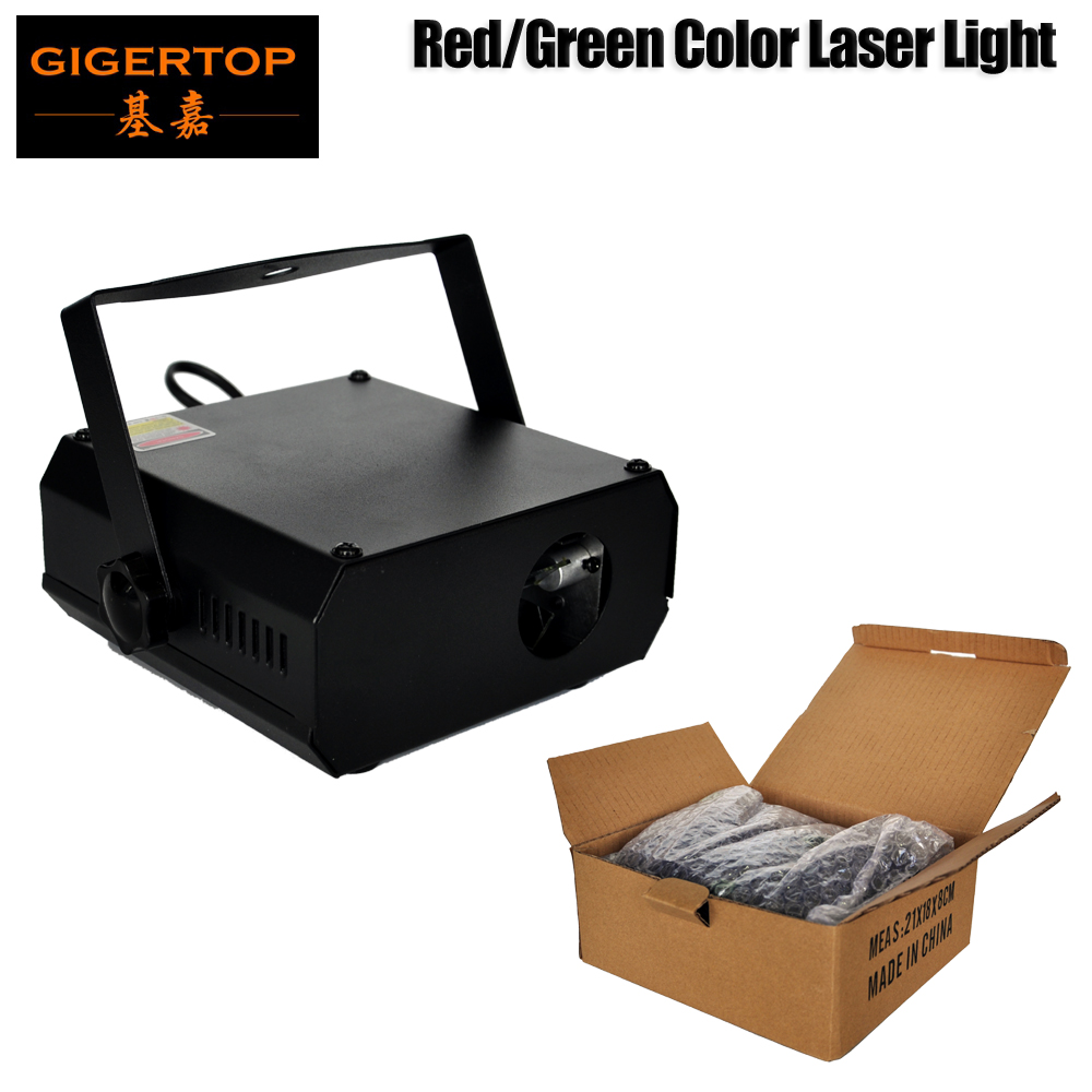 Gigertop 20W Stage Professional Laser Light Sound/Auto Control Red 100mw/Green 50mw Diode Pumped Solid Stage Laser Beam CE ROHS