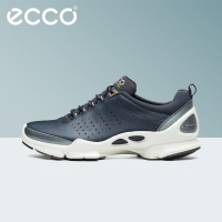ECCO Winter Fashion Genuine Leather Men Casual Sneakers Comfortable Breathable Shoes Outdoor Warm Men's Footwear Walking Shoes
