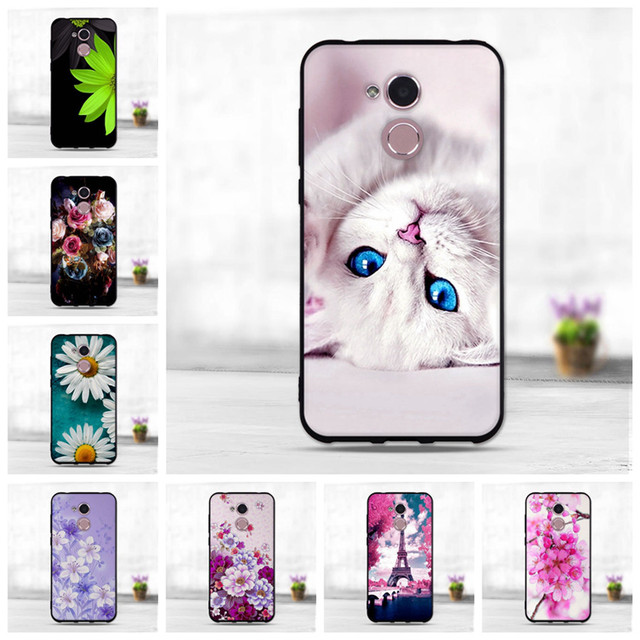 factory price 90d69 a9354 For Huawei Honor 6A, Holly 4, 6A Pro, 5C pro 5 inch Case Cover Soft  Silicone Back Cases Cover For Huawei Honor 6 A 6A DLI TL20-in Half-wrapped  Case ...