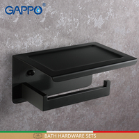 GAPPO paper holder wall mounted accessories bathroom holders bathroom paper holder bars toilet holders