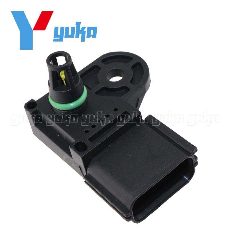 035e81b52874 100% Test MAP Sensor Intake Air Boost Pressure Manifold Absolute ...