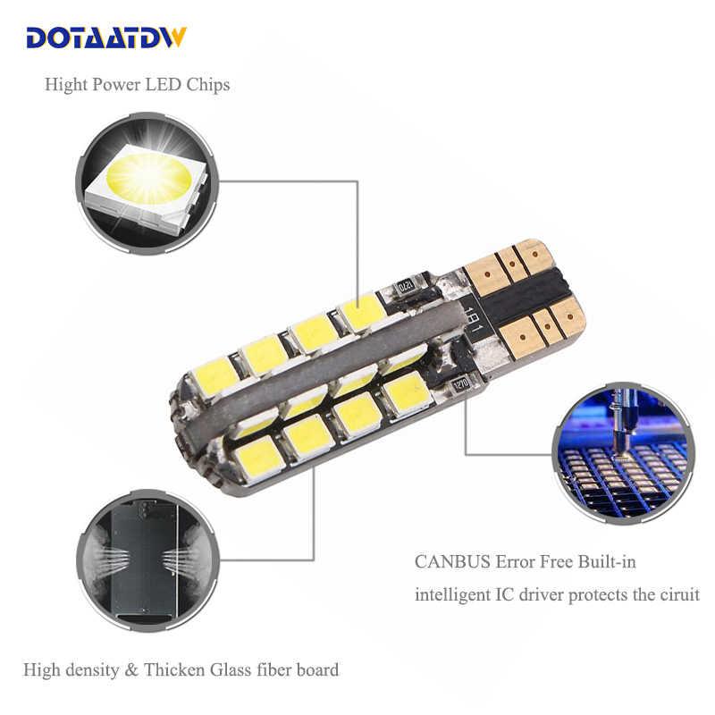DOTAATDW 1x T10 W5W סמסונג רכב LED חניית אור עבור סובארו אימפרזה legacy xv פורסטר אאוטבק טרייבקה פיאט