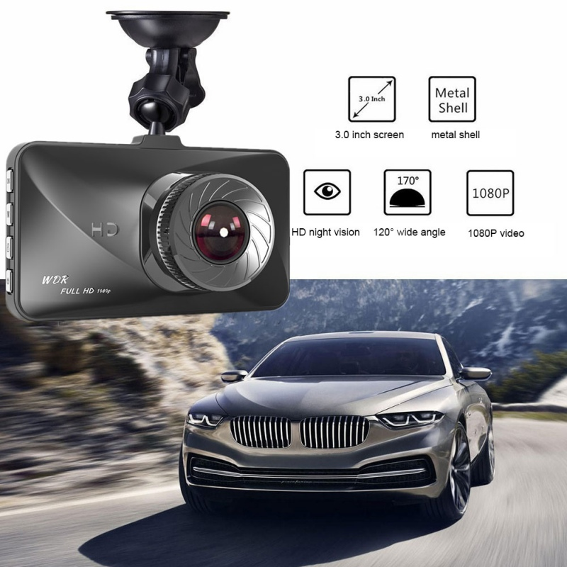 Driving-Recorder Car-Dvr-Camera Capacitive-Screen Full-Hd 1080p 3-Inch High-Quality