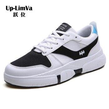04b7e1900 2019 Новая мужская обувь зимняя белая обувь мужская Корейская версия тренда  повседневной обуви дикие мужские кроссовки