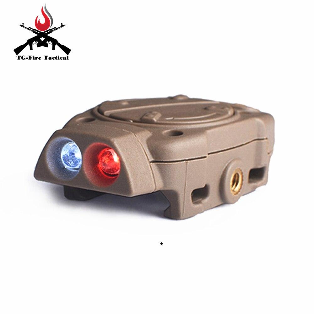 picatinny ferroviario com interruptor remoto luz cauda branco vermelho ir arma luzes 05
