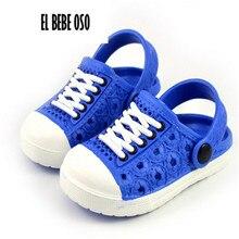 El Bebe OSo Children Beach Slippers Kids Girl Shoes Unisex Boys Girls Sandals Garden Glogs Drag Pink Mules Shoes 1-5 age Retail