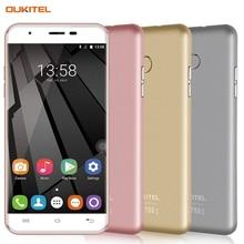 OUKITEL U7 Плюс 16 ГБ/2 ГБ 4 Г Распознавания Отпечатков Пальцев 5.5 »5D Полированной Android 6.0 MTK6737 Quad Core до 1.3 ГГц Смартфон