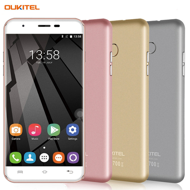 OUKITEL U7 Plus 16GB/2GB 4G Fingerprint Recognition 5.5'' 2.5D Polished Android 6.0 MTK6737 Quad Core up to 1.3GHz Smartphone