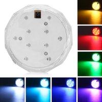 5 PCS LED Pond Night Light Underwater Waterproof RGB AA Battery Swimming Pool Light