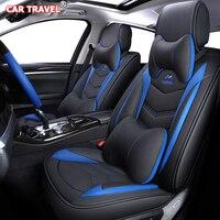 Роскошные кожаные сиденья для hyundai solaris туксонский акцент creta getz купе grand i10 i20 i30 i40 ix35 ionia Кона Санта Фе