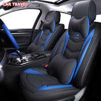 Couro de luxo capa de assento do carro para hyundai solaris tucson acento getz coupe grand i10 i20 i30 i40 ix35 ionia kona santa fe