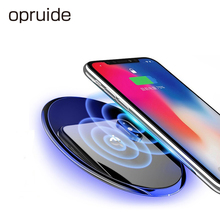 Opruide 10W Fast Wireless Charger For Samsung Galaxy S8 S9 S7 Edge Qi USB Charging Pad iPhone X8 XS Dock Station