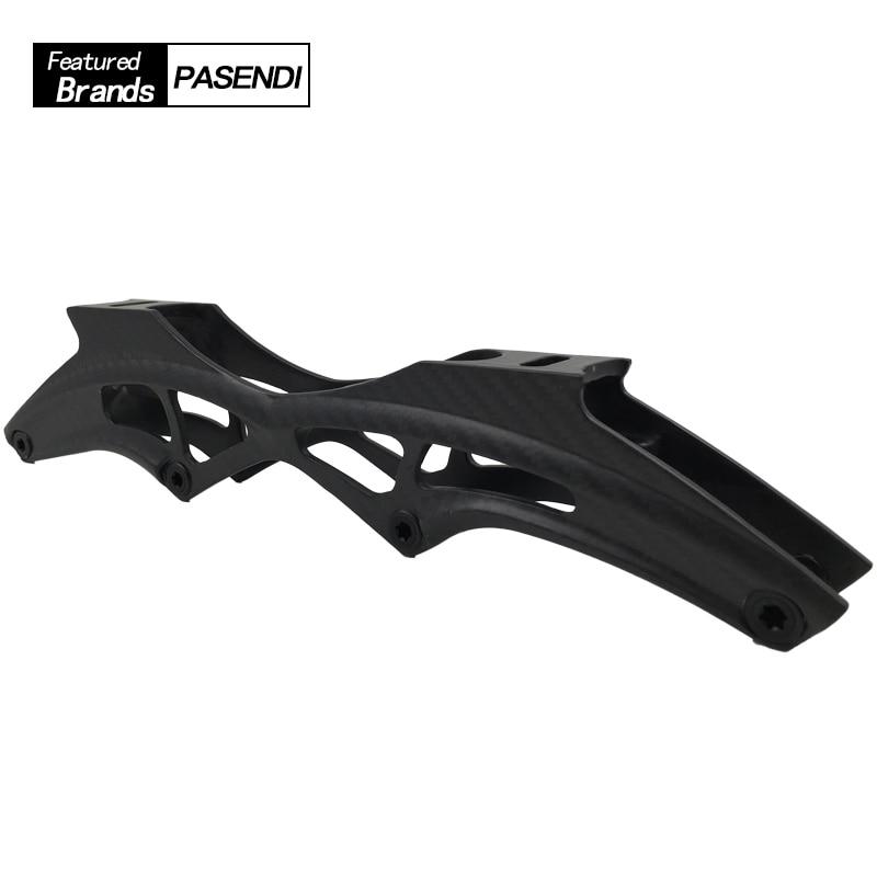 Professional Speed Skate Carbon Fiber Frame Women Men Roller Skates Inline Shoes Adults Kids 3x110 3x125