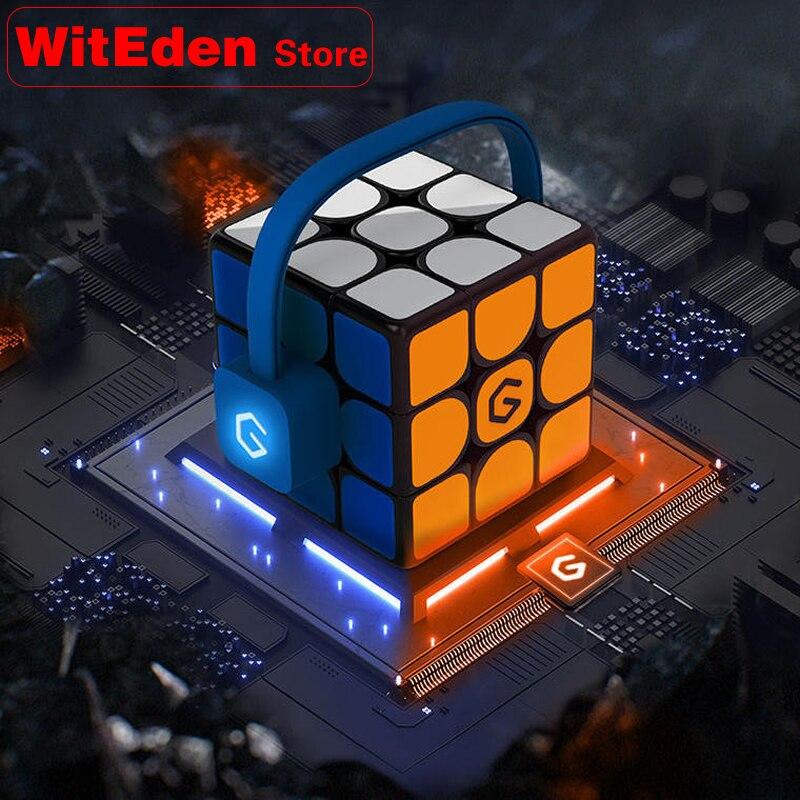 Cube magique 3x3x3 magnétique 3x3 aimants Super intelligent professionnel vitesse Puzzle Cube Antistress jouets éducatifs Xiaomi Giiker i3s