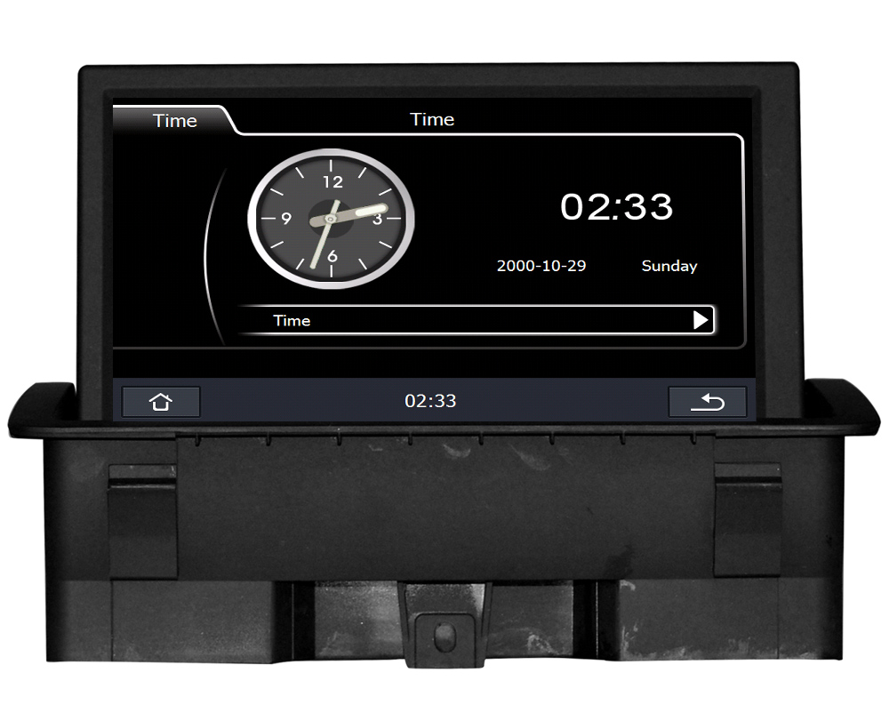 car multimedia gps navigation for audi a1 2012 2015 with usb sd aux rca auto audio video stereo. Black Bedroom Furniture Sets. Home Design Ideas