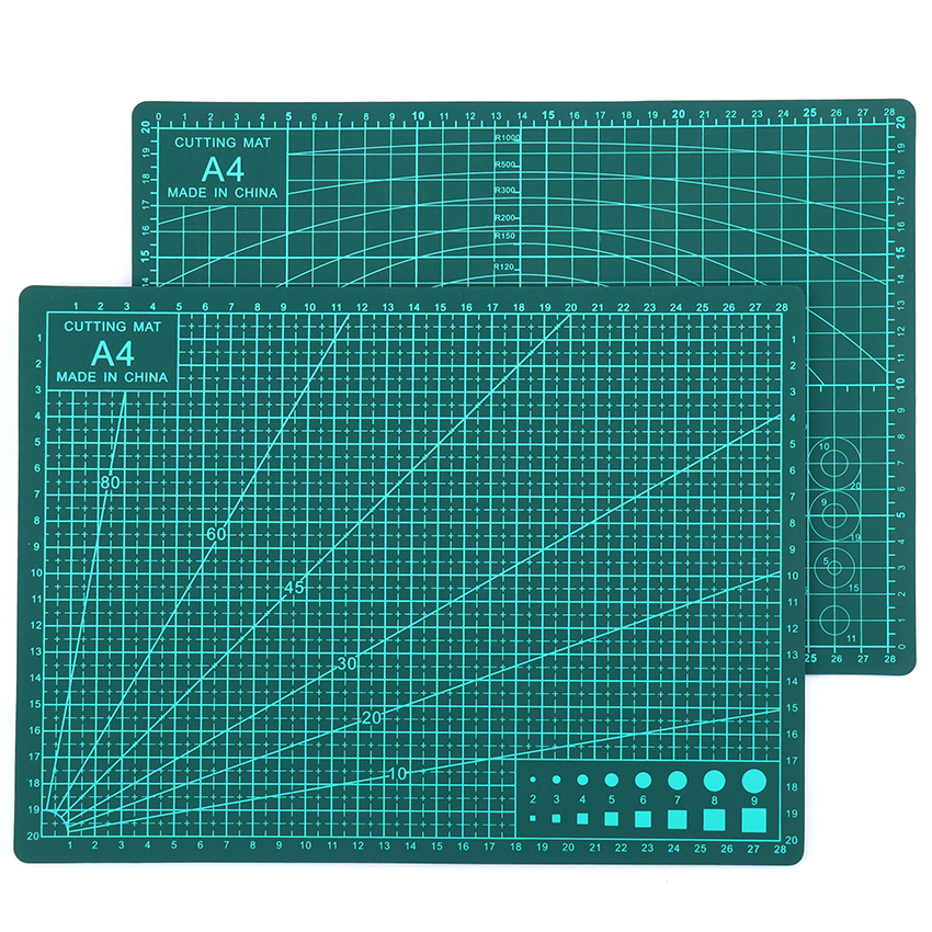 Cutting Mat A4 30*22*0.3cm PVC 3-layer Durable Cutting Pad Double-sided Mat For Cutting