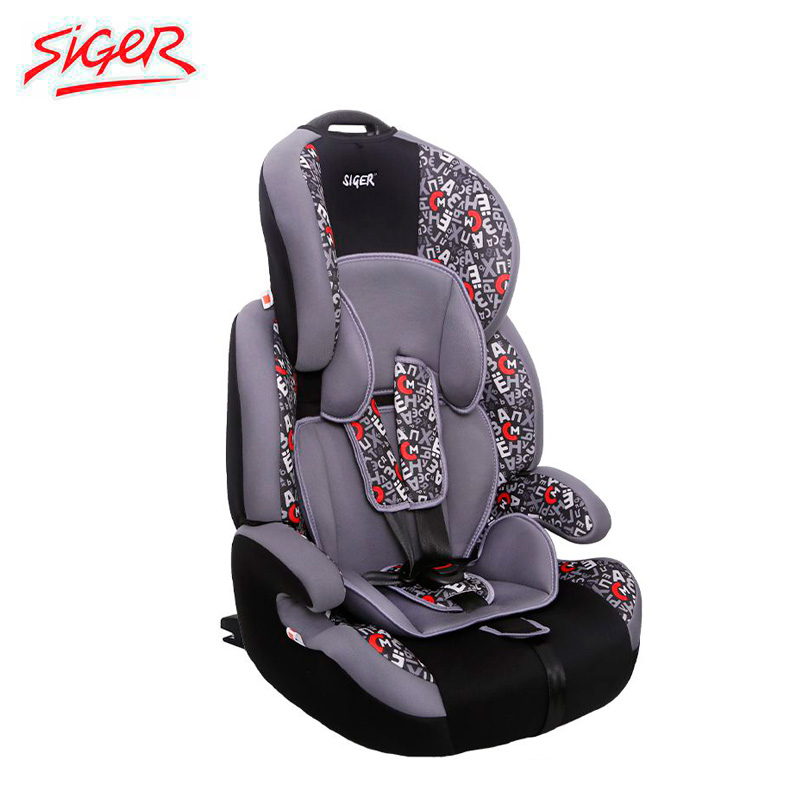 Child Car Safety Seats Siger Star isofix, 1-12 9-36 kg group1/2/3 Kidstravel