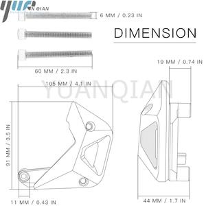 Image 5 - CNC אלומיניום מנוע Slider מגן אופנוע מנוע שומר להגן עבור kawasaki Z900 2017 Z1000 2010 2017 שישה צבעים